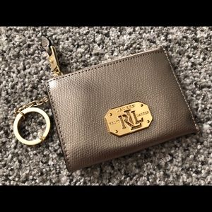 Ralph Lauren Leather Coin Purse